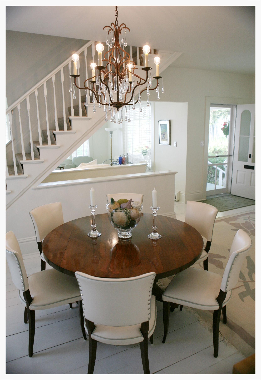 Dining room set interior design