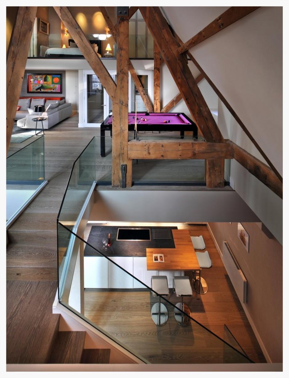 multiple level interior design