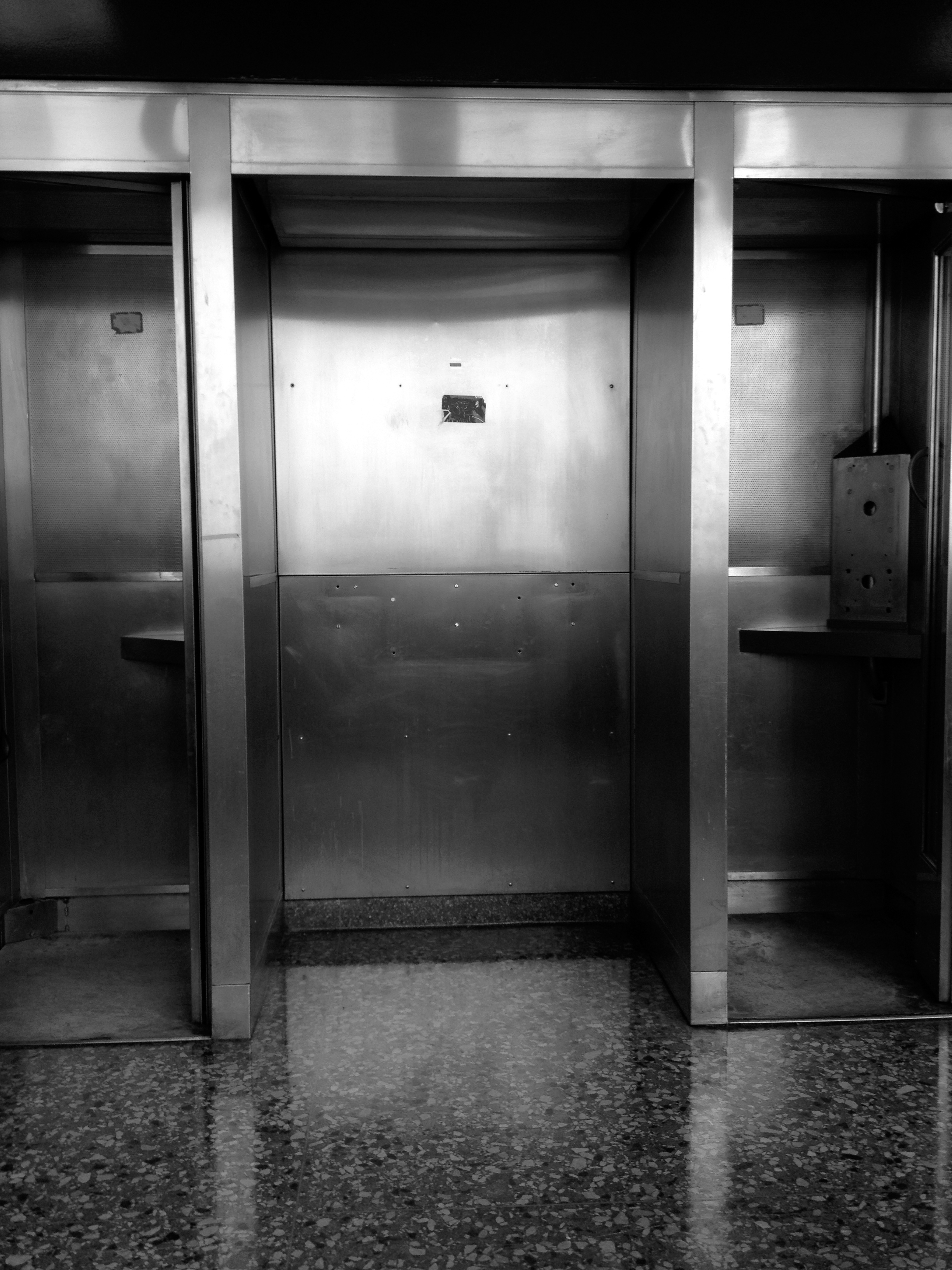 Phone Booths, Courthouse, NYC