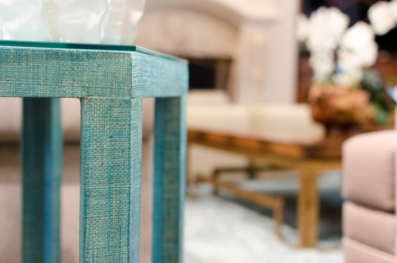 Rattan wrapped furniture