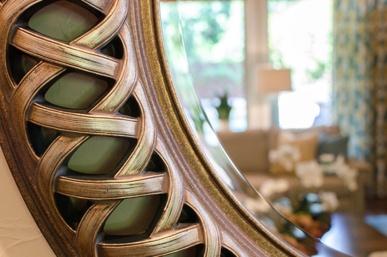 Traditional bronze mirror