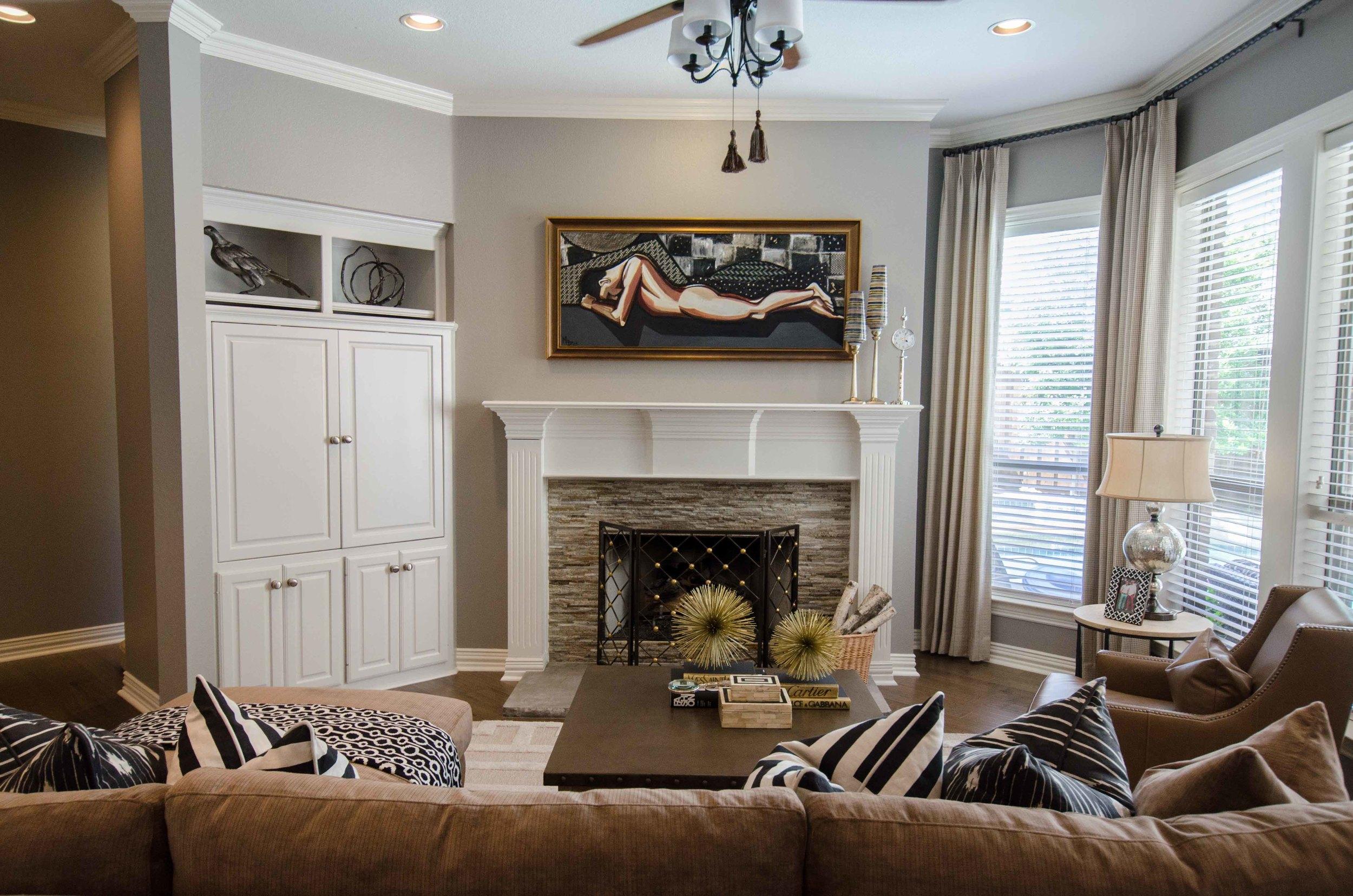 Modern neutral interior design