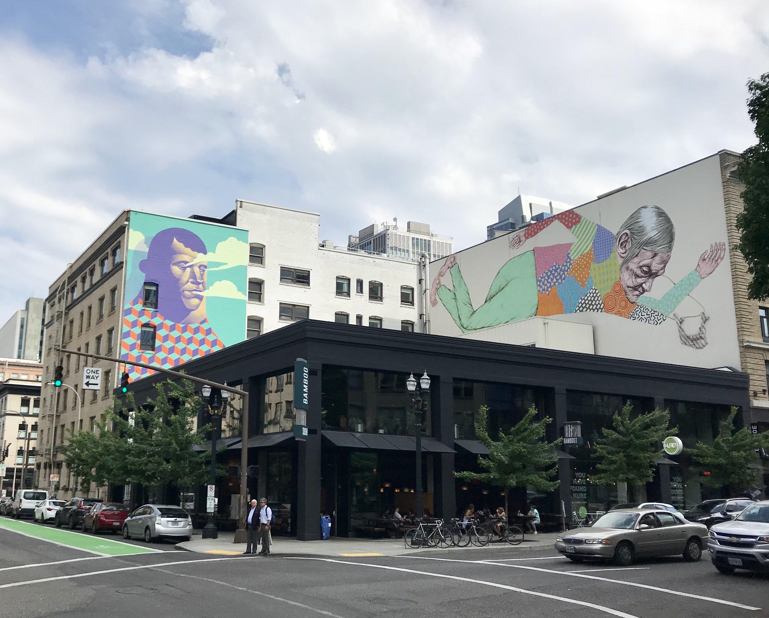 Burnside murals
