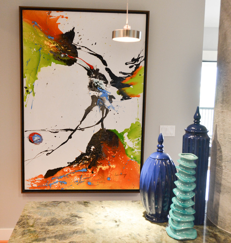 Original large scale abstract art