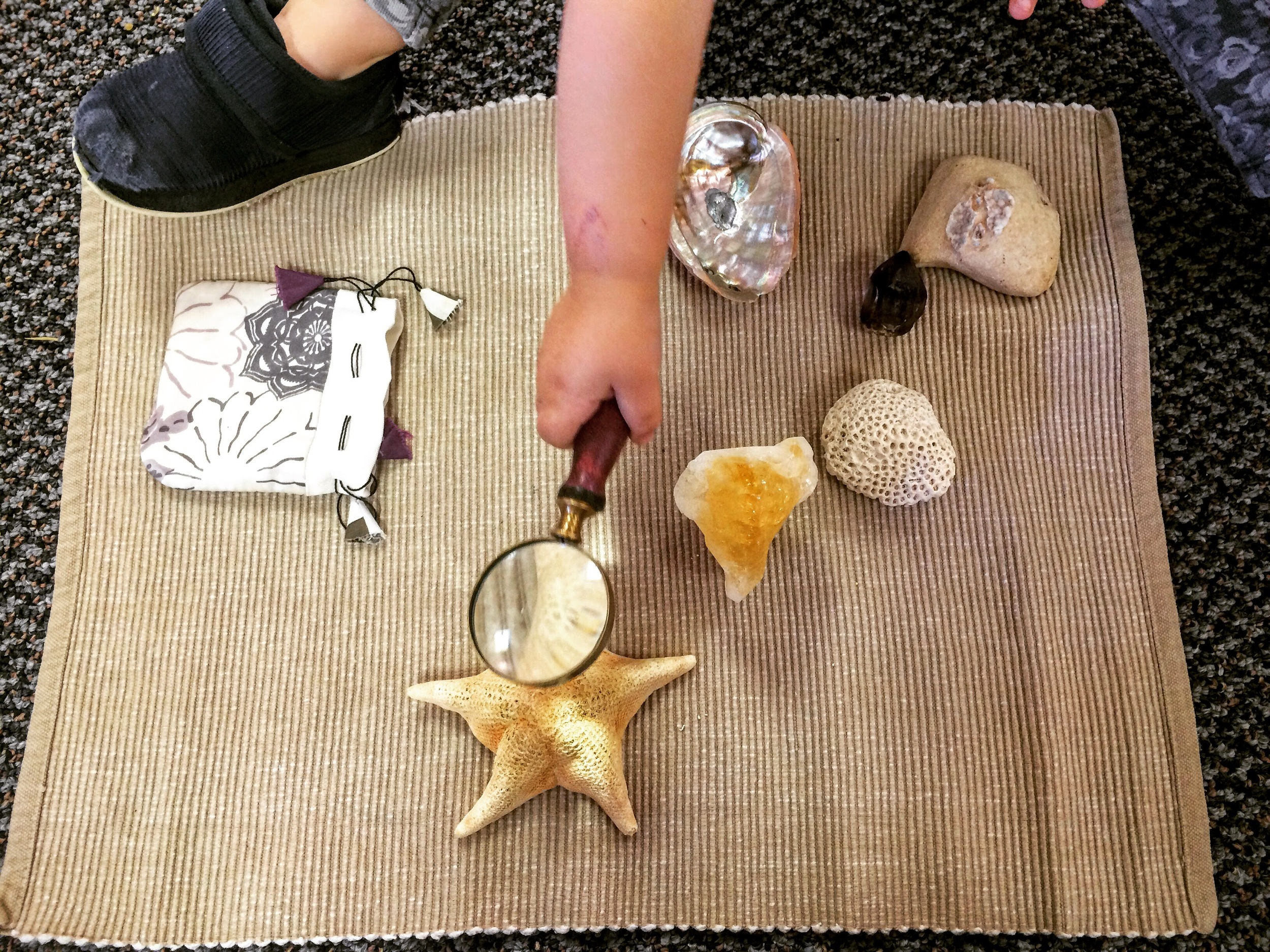 Nature, Science & Language Development with A Magnifying Glass
