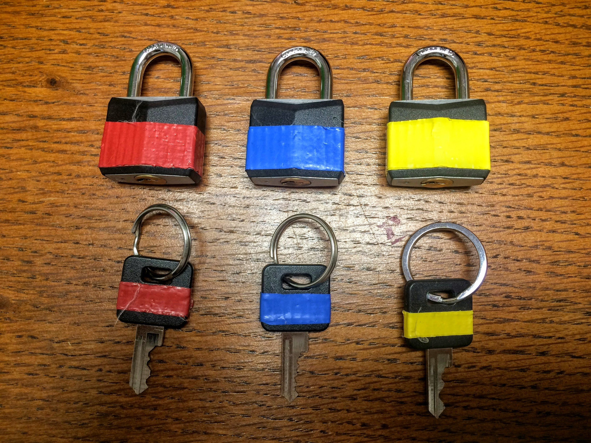 Fine Motor & Color Sorting Lock and Key