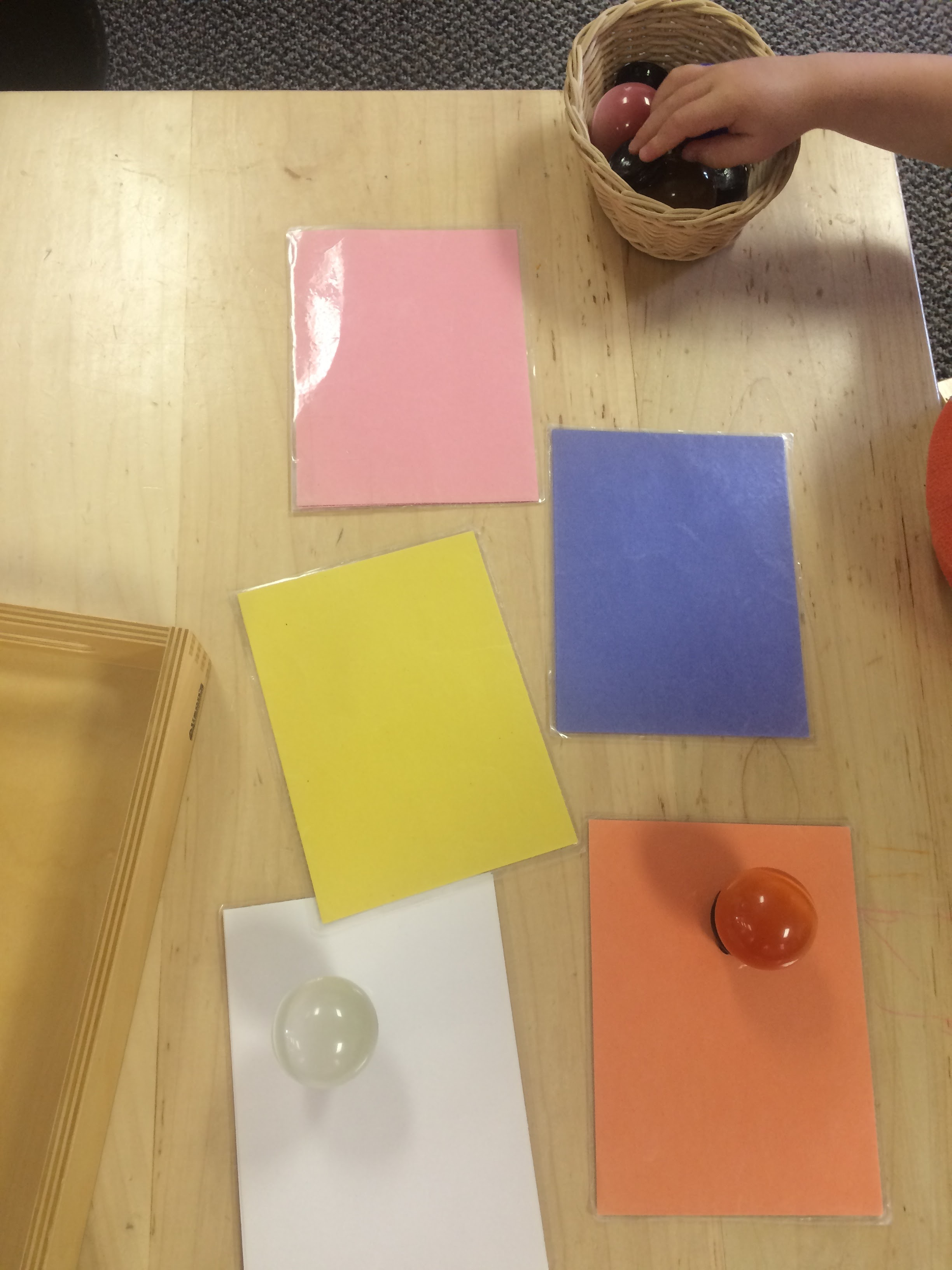 Color Matching & Language Development