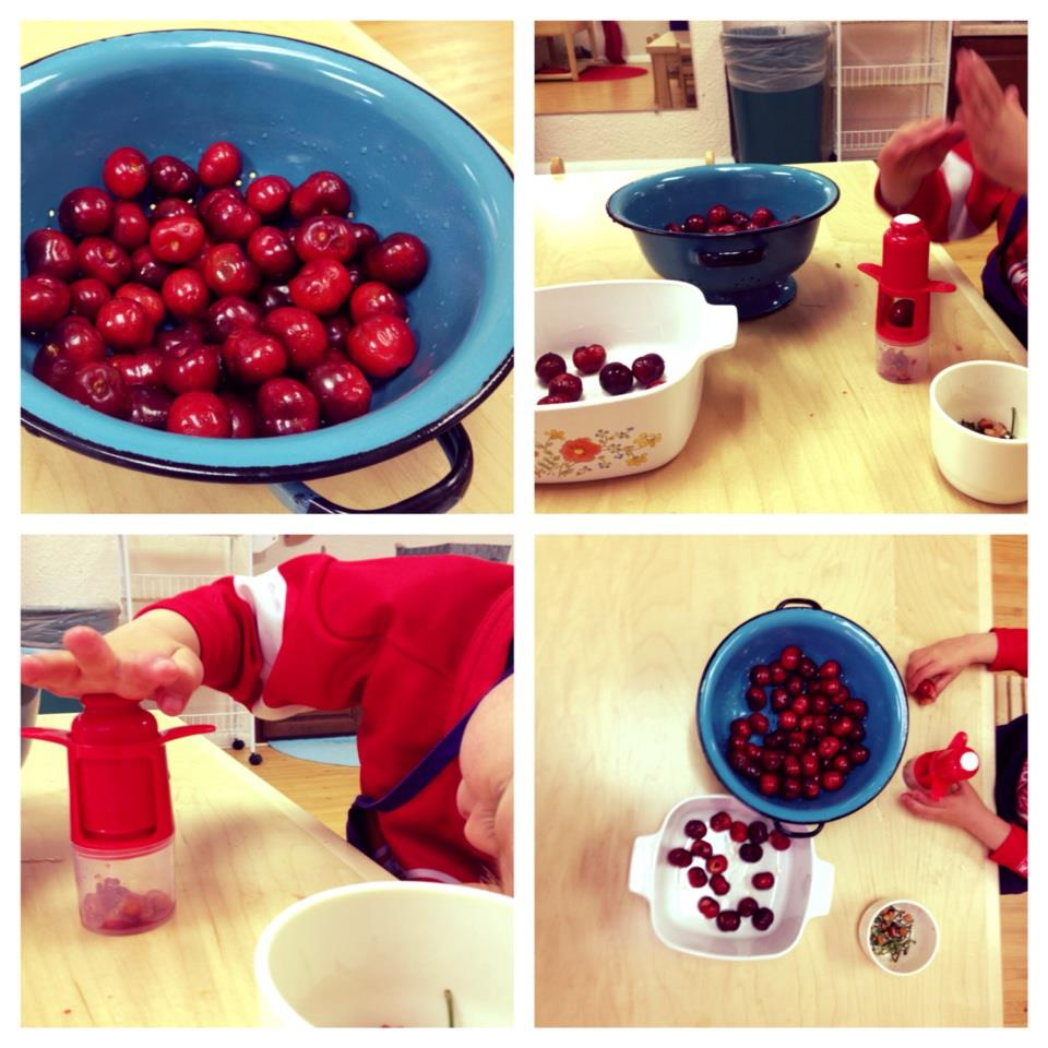 Food Preparation - Cherry Pitting