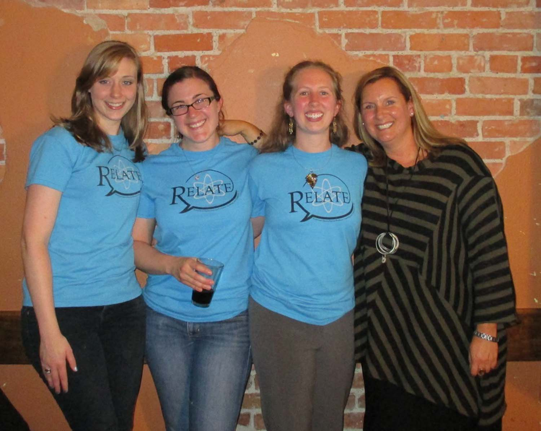 2014 RELATE Coordinators & Faculty Advisor Dr. Leah Bricker