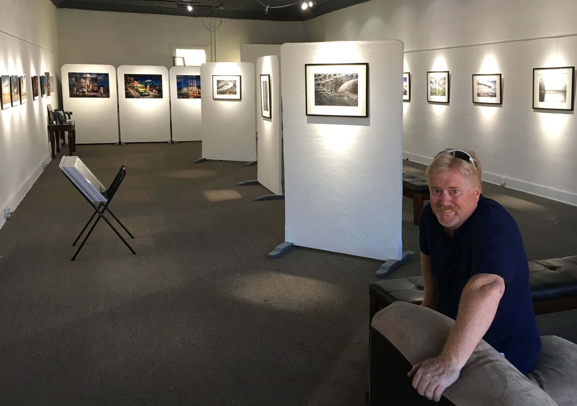 "You'd never know this Gallery existed in the middle of a Ghost Town. The Hoot ""Smith"" Gallery in Randsburg CA was a surprise to me. An even bigger surprise was to find my images on the wall and actually selling a few prints!"