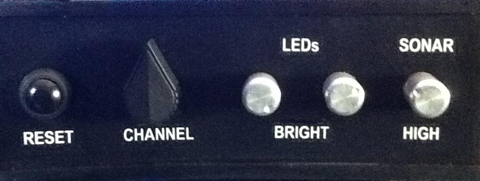 CHANNEL, LED, SONAR CONTROLS