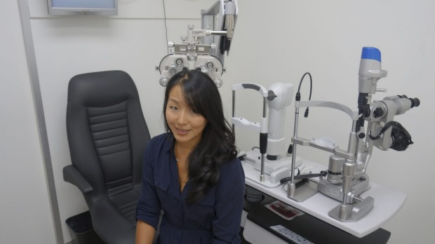 Jessica Chi's optometry career is a juggling act she enjoys.   Photo: Supplied    Read more:   http://www.theage.com.au/business/workplace-relations/health-head-20160409-go2kk8