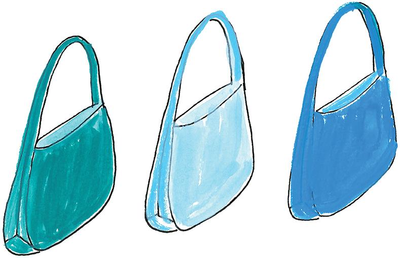 Trio of Wesley Shoulder Bags.