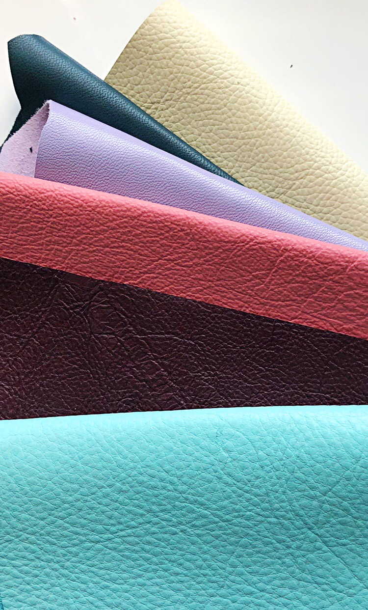 A variety of leather weighing 1-4 ounces.