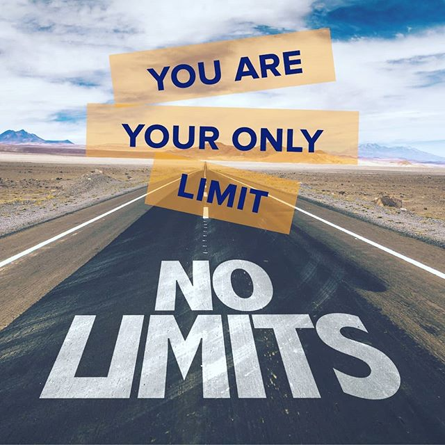 There's nothing stopping you, but you! . . . #graphicquote #graphicdesign #nolimit #nolimitations #qotd #friday #quotes #quotestoliveby #quotestagram