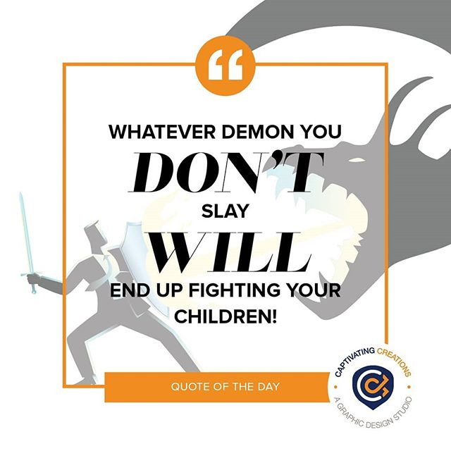 Often times we think the battle is just for us, but take heed and fight hard! . . . #qotd #quote #quoteoftheday #graphicdesign #graphicquote #truth #lifequotes #lifelessons