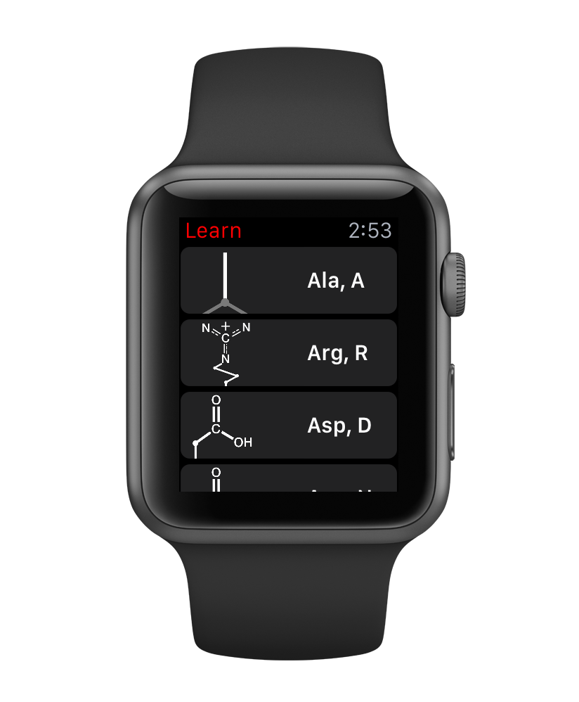 2015-05-18 - apple watch amino acid guide list.png