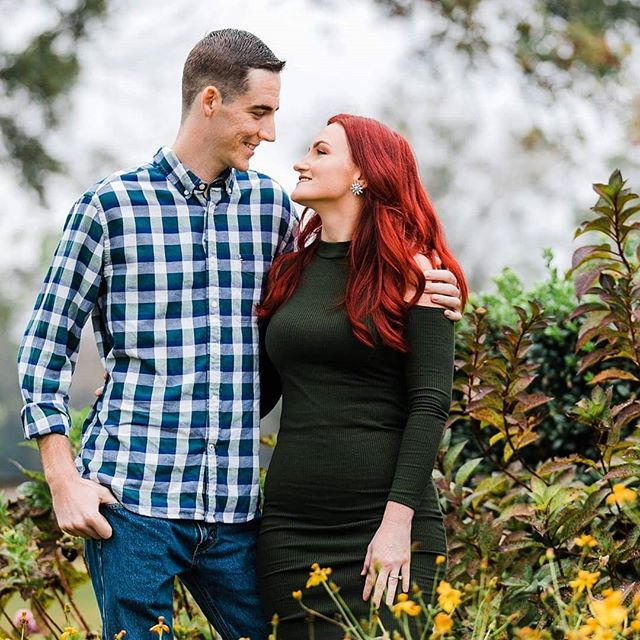 Happy Wedding Day to this sweet couple!! It has been an honor working with you these past few months.  Looking forward to a beautiful wedding at the @brevardzoo