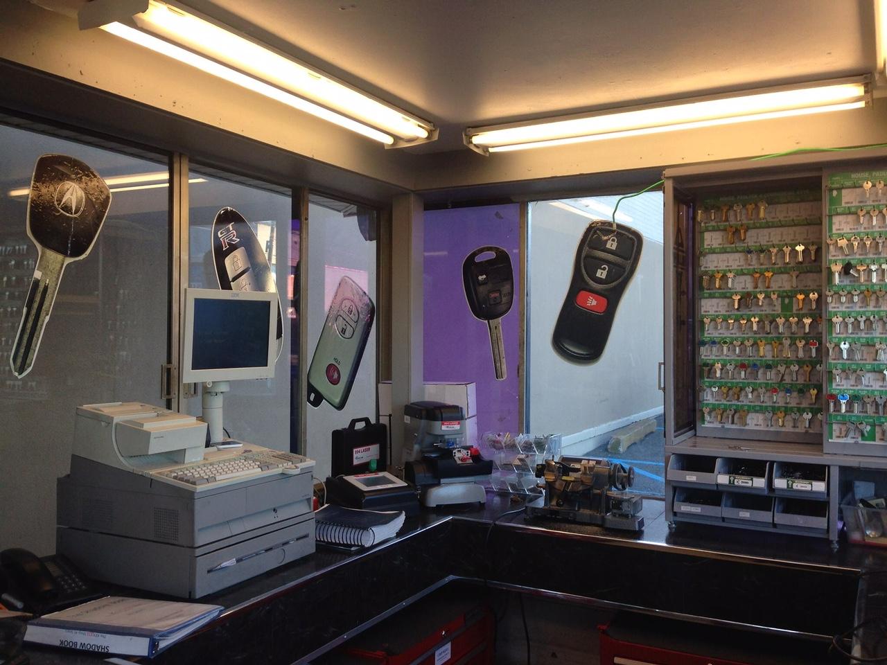 Sears Key Shop operated by The Keyless Shop automotive locksmiths of Hackensack, NJ