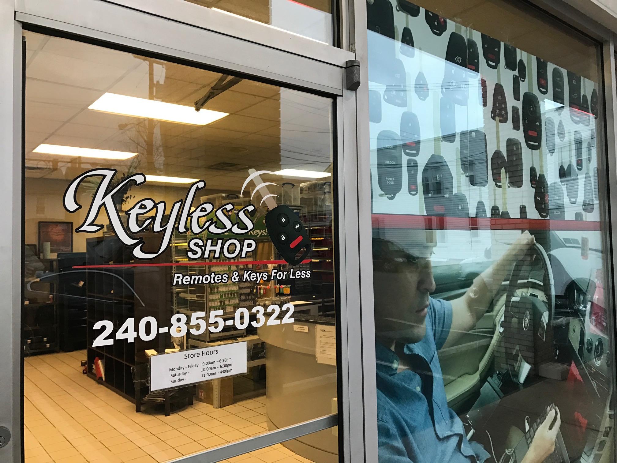 The Keyless Shop in Hagerstown, MD.    https://www.facebook.com/KeylessShopHagerstown
