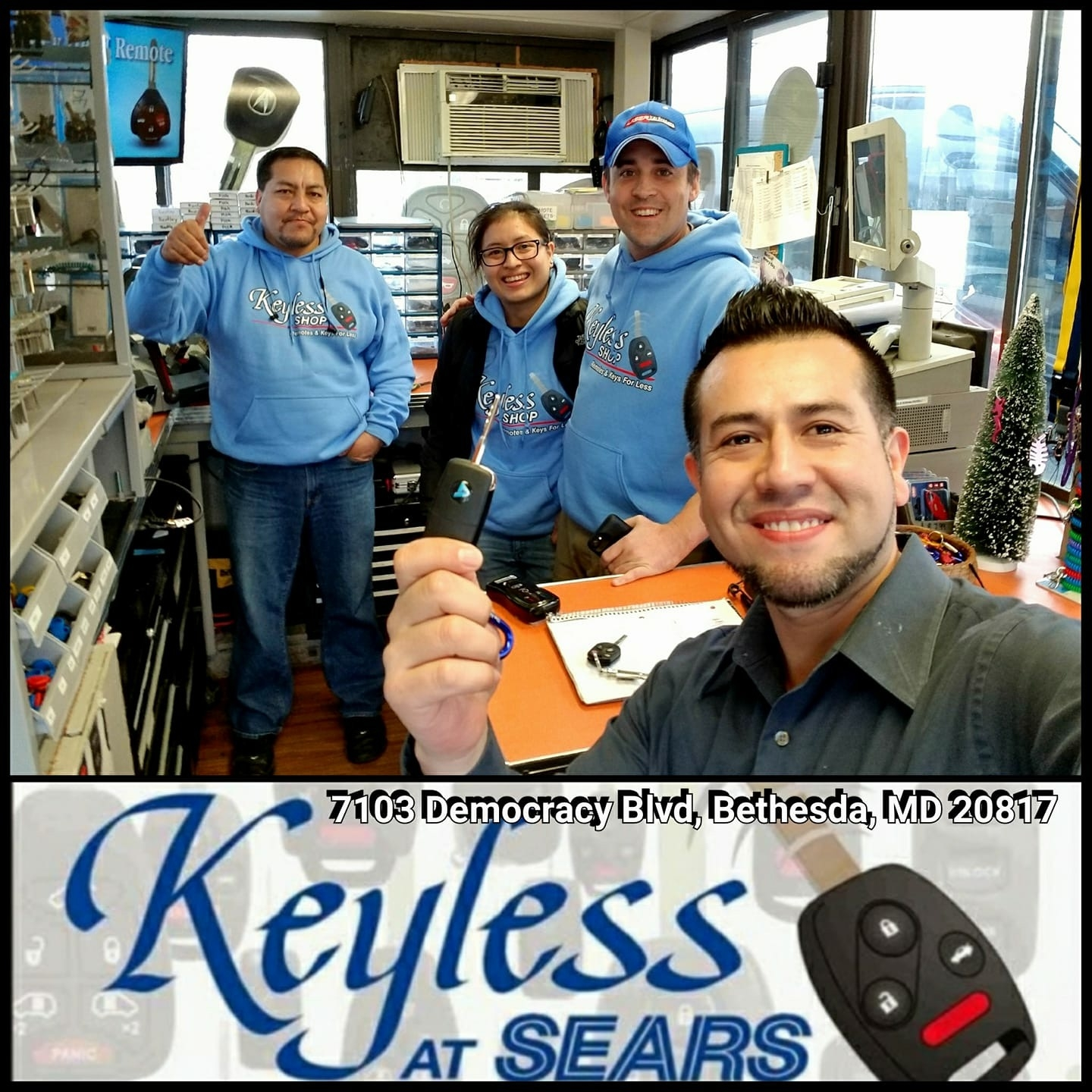 Keyless Shop Bethesda, MD. Check out all our locations page to find the nearest location to you.