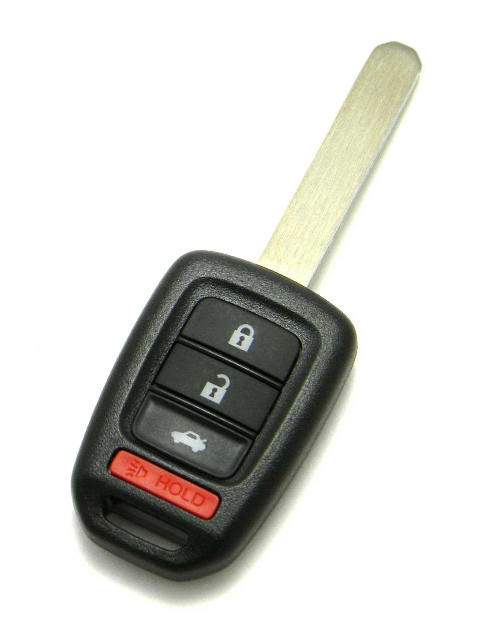 New style Honda remote key 2013 - 2018