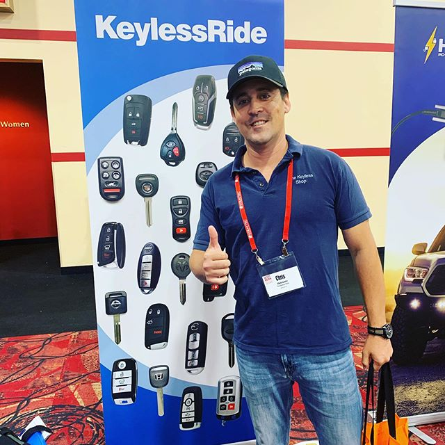 Thank you KeylessRide for long partnership #locksmith #vegas #hacks #franchise