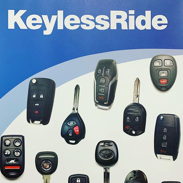 Proud to be a partner of KeylessRide. #locksmith #keyless #carkeys