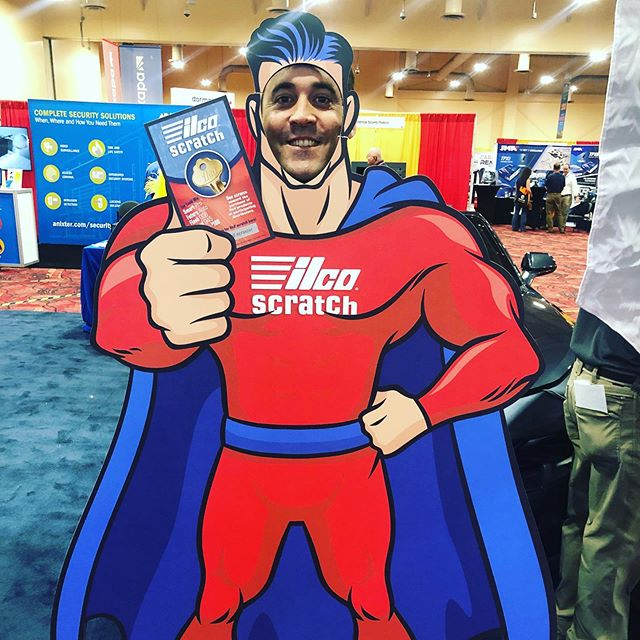 Chris excited to attend the 2019 locksmith Show lol 😂 #locksmith #vegas #keys #keylessshop