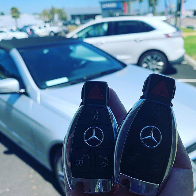 We make Mercedes keys! #mercedes #fastkeys #keyless