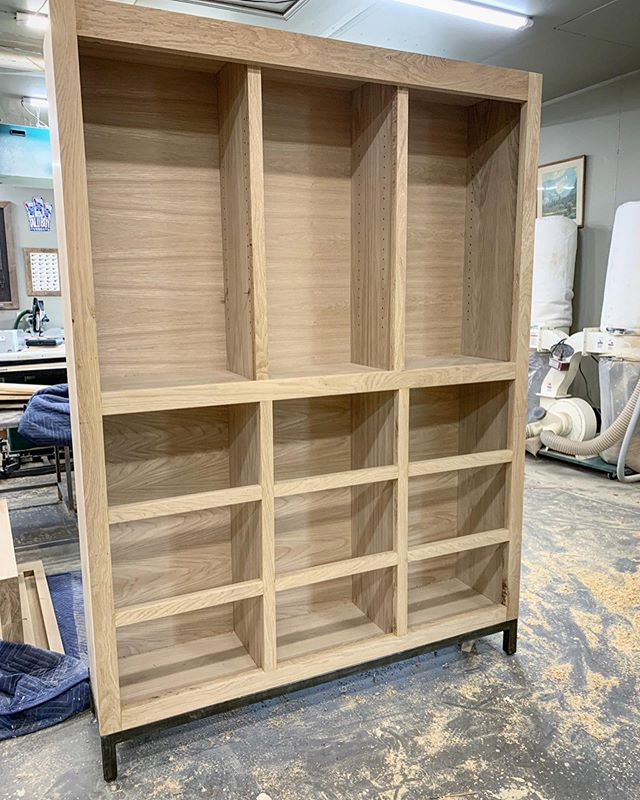 I was able to jump back into this bathroom hutch build today. It's starting to look like something! Hopefully I can have this one close to finished by the end of the week.
