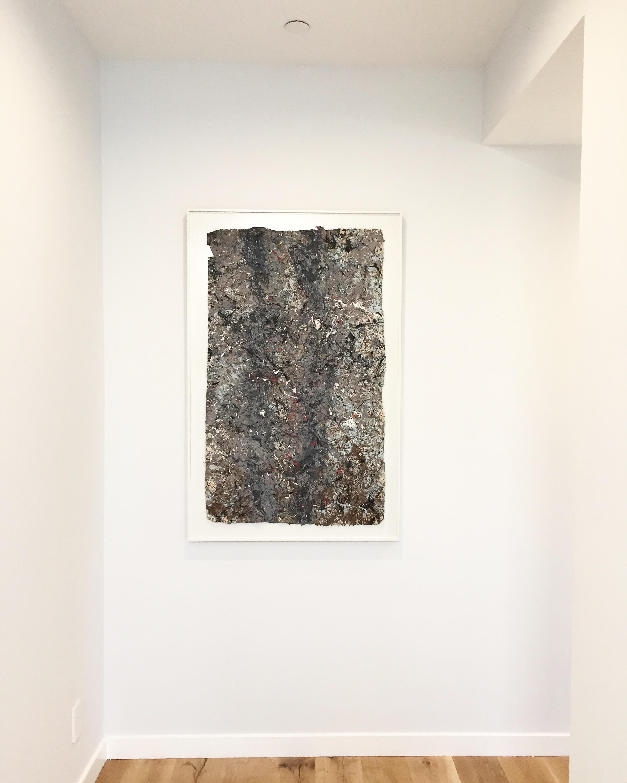 art, art installation, contemporary art, architecture, Jackson Pollack, modern, midcentury, interior design,
