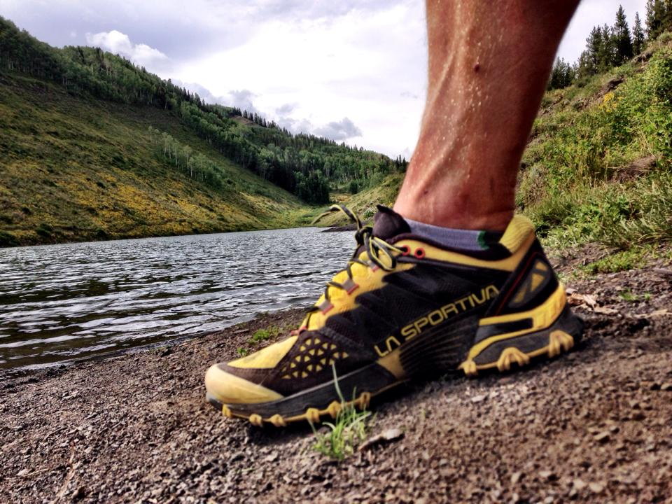 testing the la sportiva bushido in crested butte
