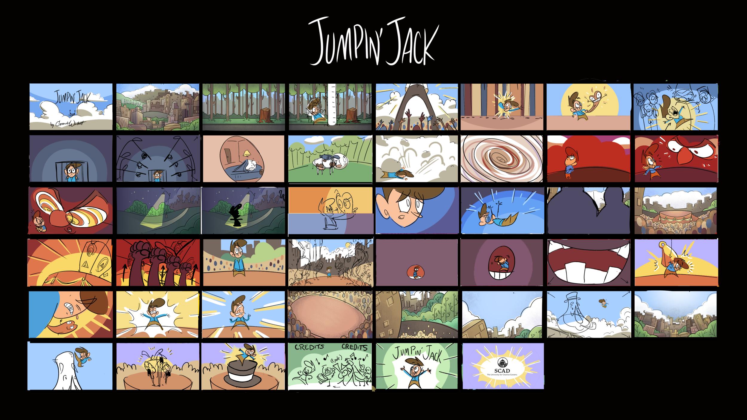 Jumpin' Jack Color Script