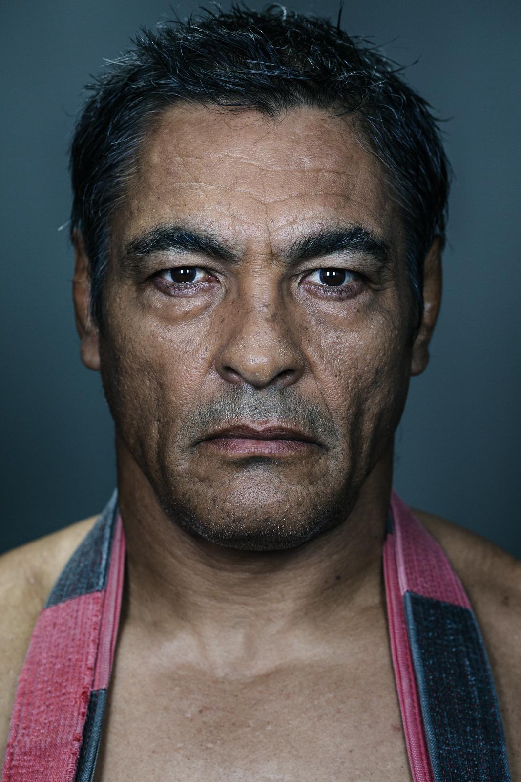 Rickson Gracie, Brazilian Jiu-Jitsu legend at his studio in Culver City. Photo by Flavio Scorsato