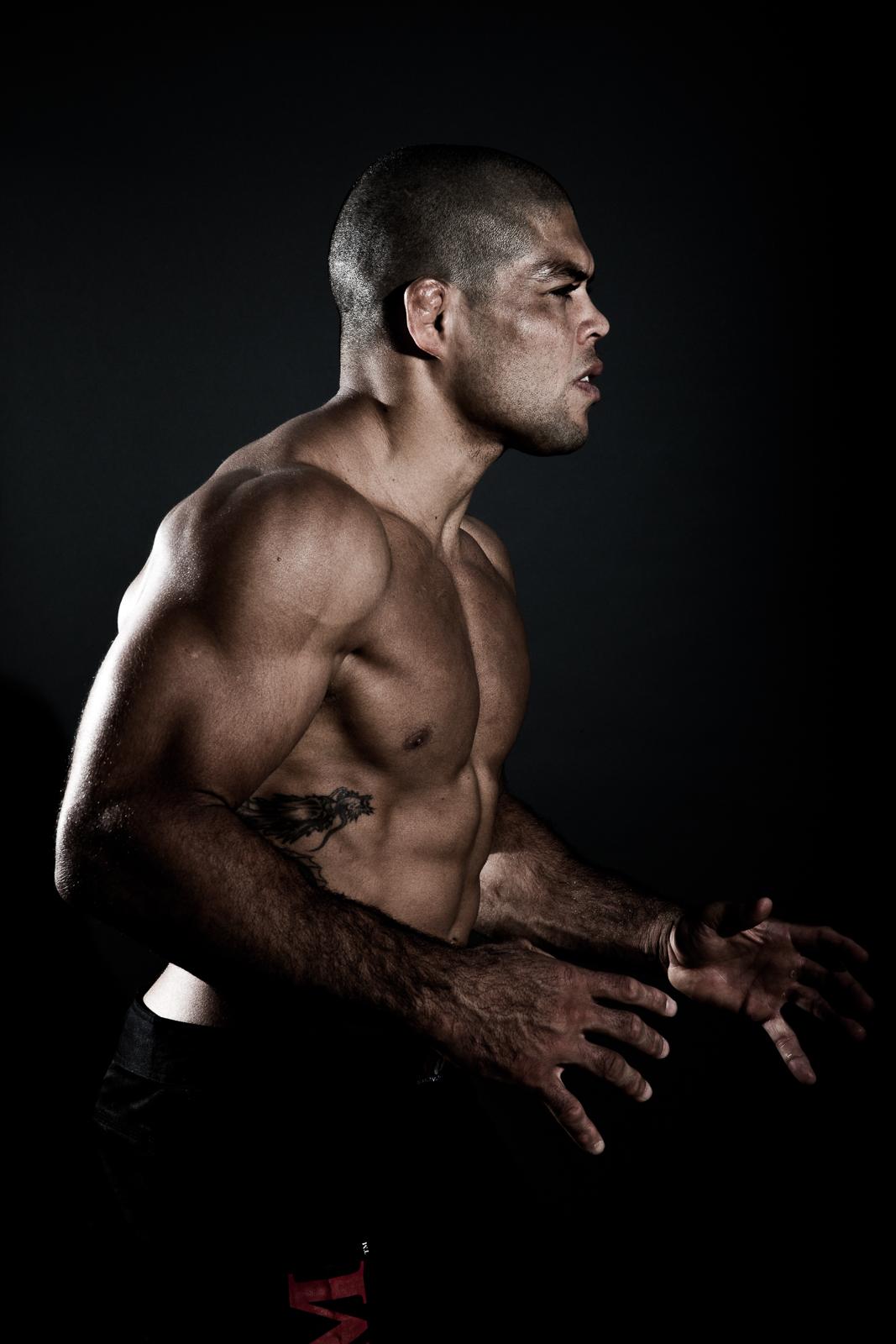 Andre Galvão Brazilian Jiu-Jitsu athlete and ADCC Champion for BJJ Style magazine. Photo by Flavio Scorsato