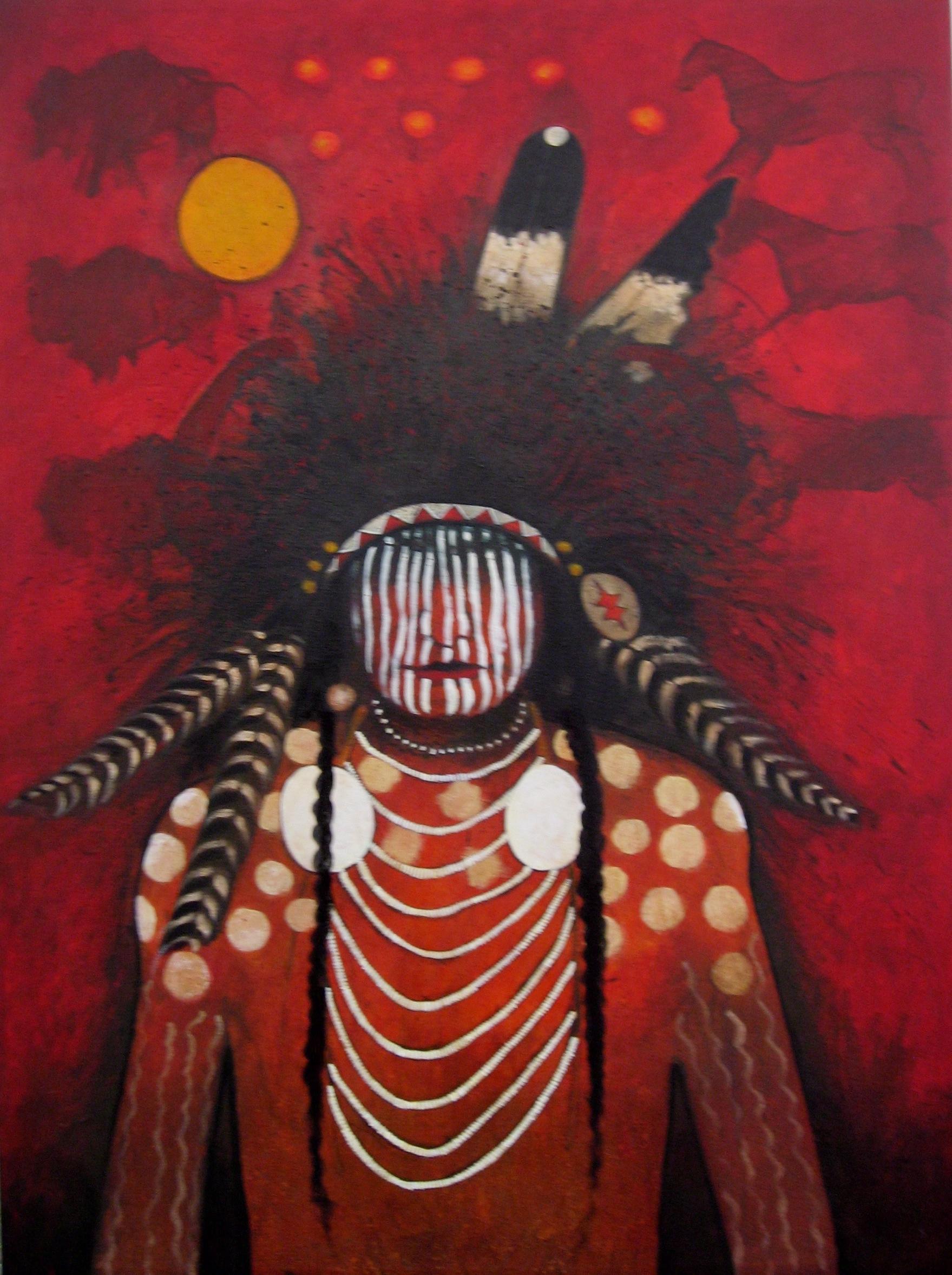 Contemporary Native American Artists Signed Hardback Copy Ken Lingad