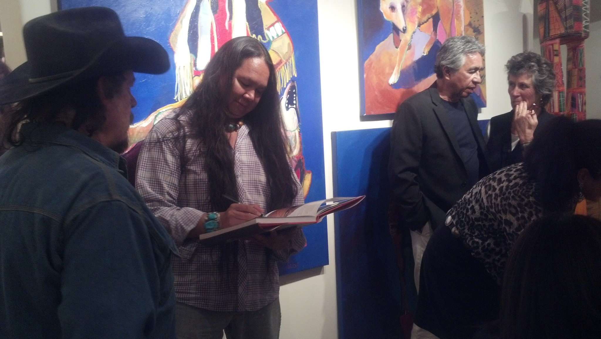 Ken-Lingad-book signing_contemporary-native-american-artists_kevin-red-star_jody-naranjo.jpg