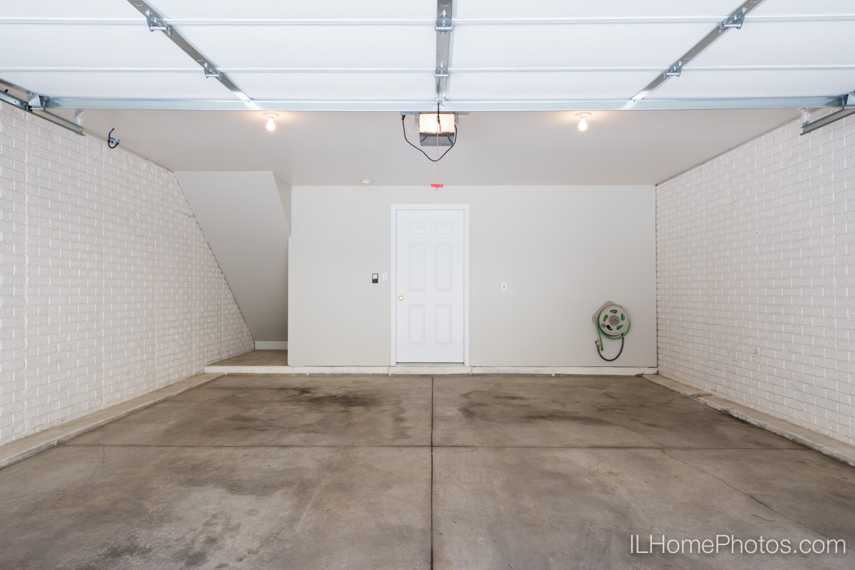 Garage interior photograph, Morton IL :: Illinois Home Photography by Michael Gowin, Lincoln, IL