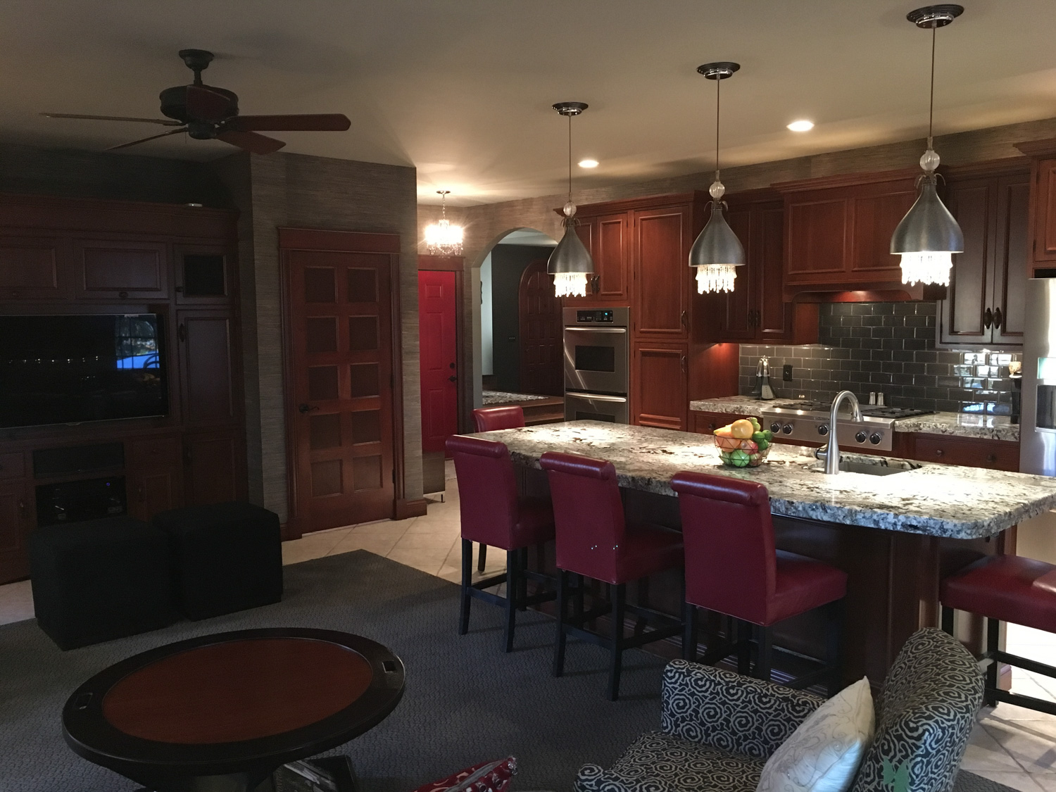 Before - amateur photograph of kitchen
