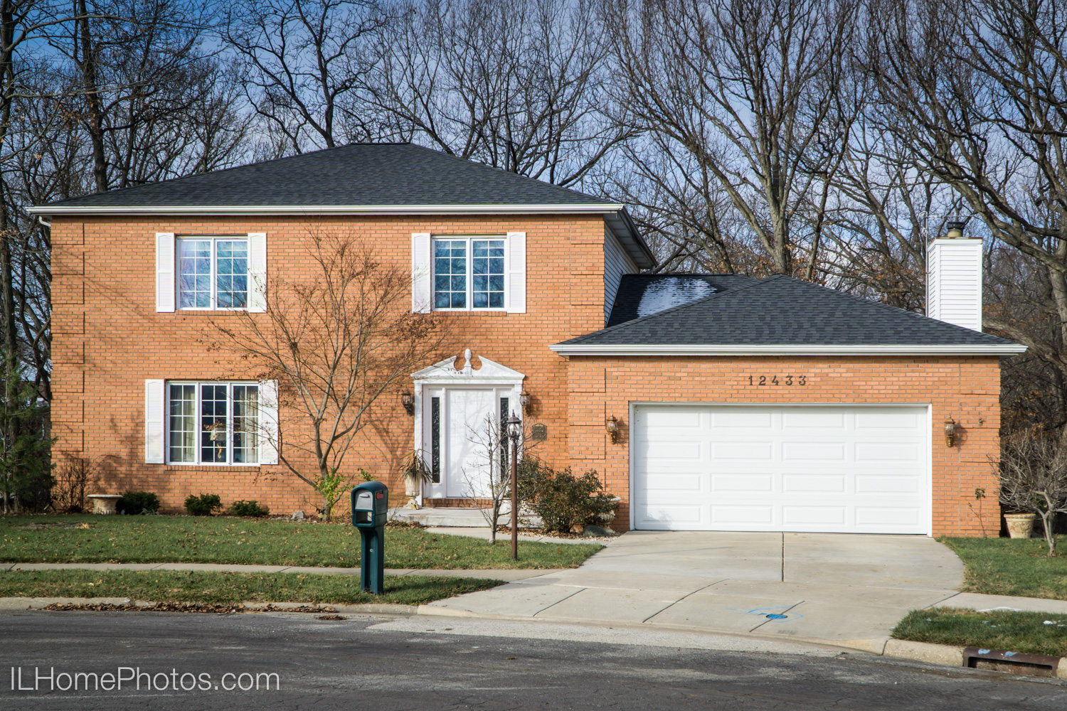 Exterior home photograph for real estate in Dunlap, IL :: Illinois Home Photography by Michael Gowin, Lincoln, IL
