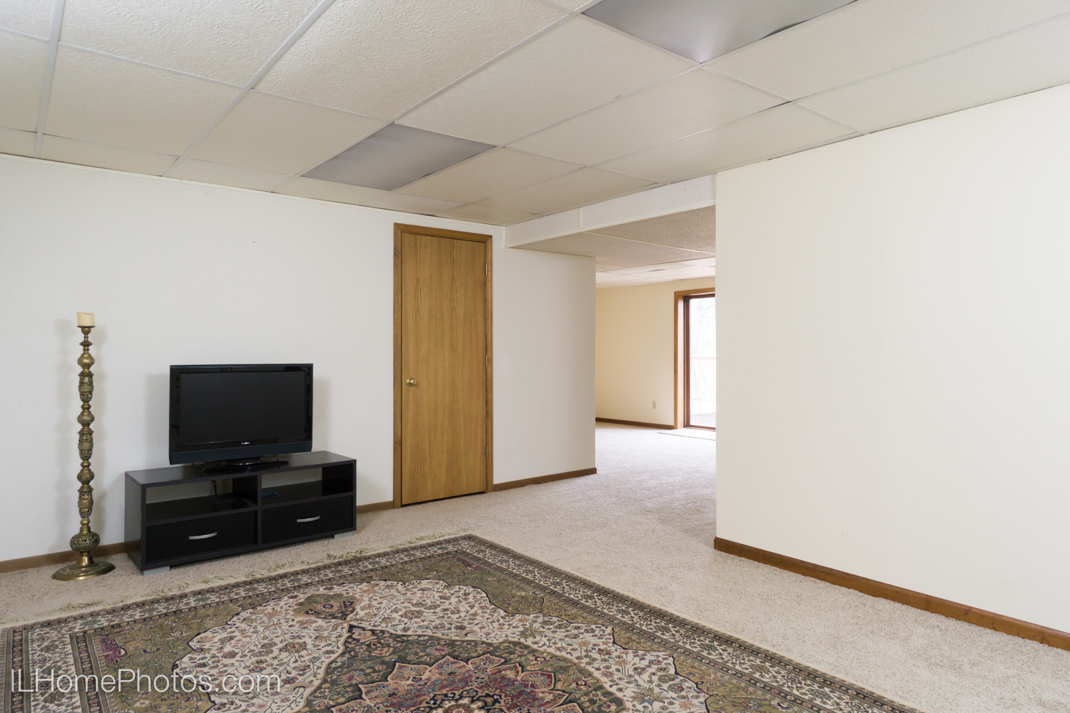 Interior basement photograph for real estate in Dunlap, IL :: Illinois Home Photography by Michael Gowin, Lincoln, IL