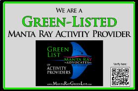 manta ray green list company Liquid Hawaii