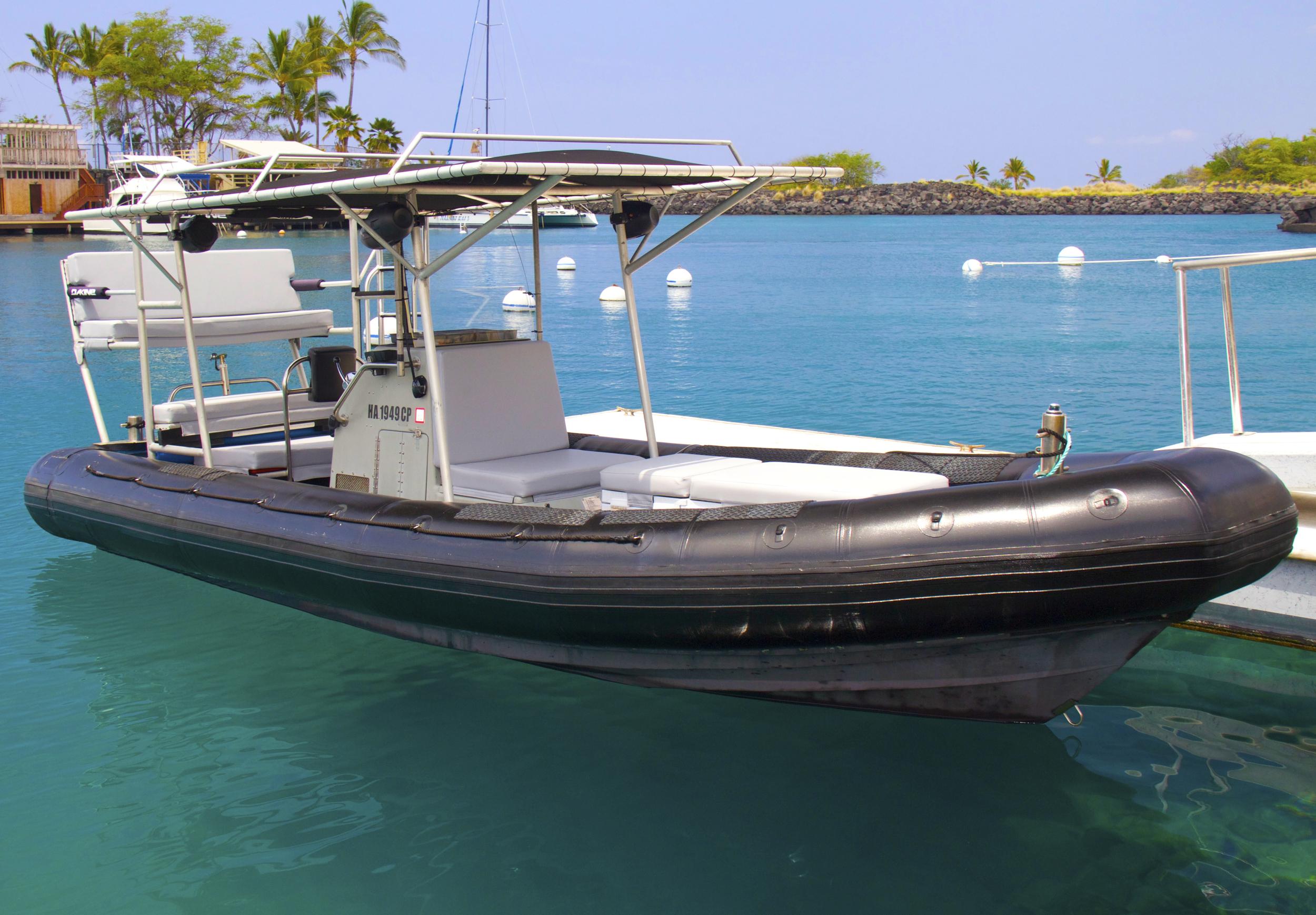 Our Boat LiquidHi custom Northport SeaForce 730 Military Zodiac