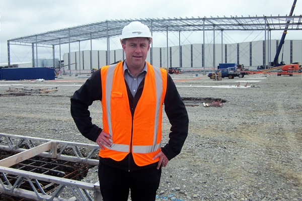 Kris  Lancaster,Foodstuffs Logistics Operations Manager
