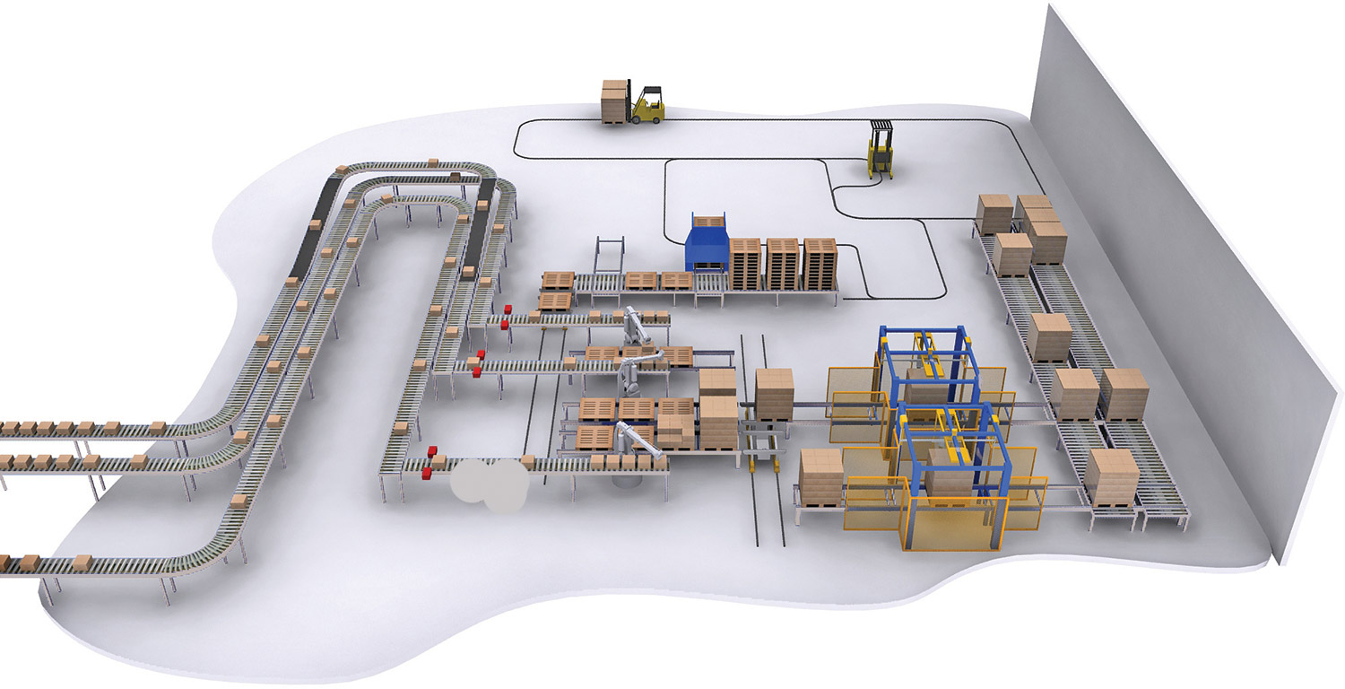 Join processes together, deliver, and take away goods with colby conveyors