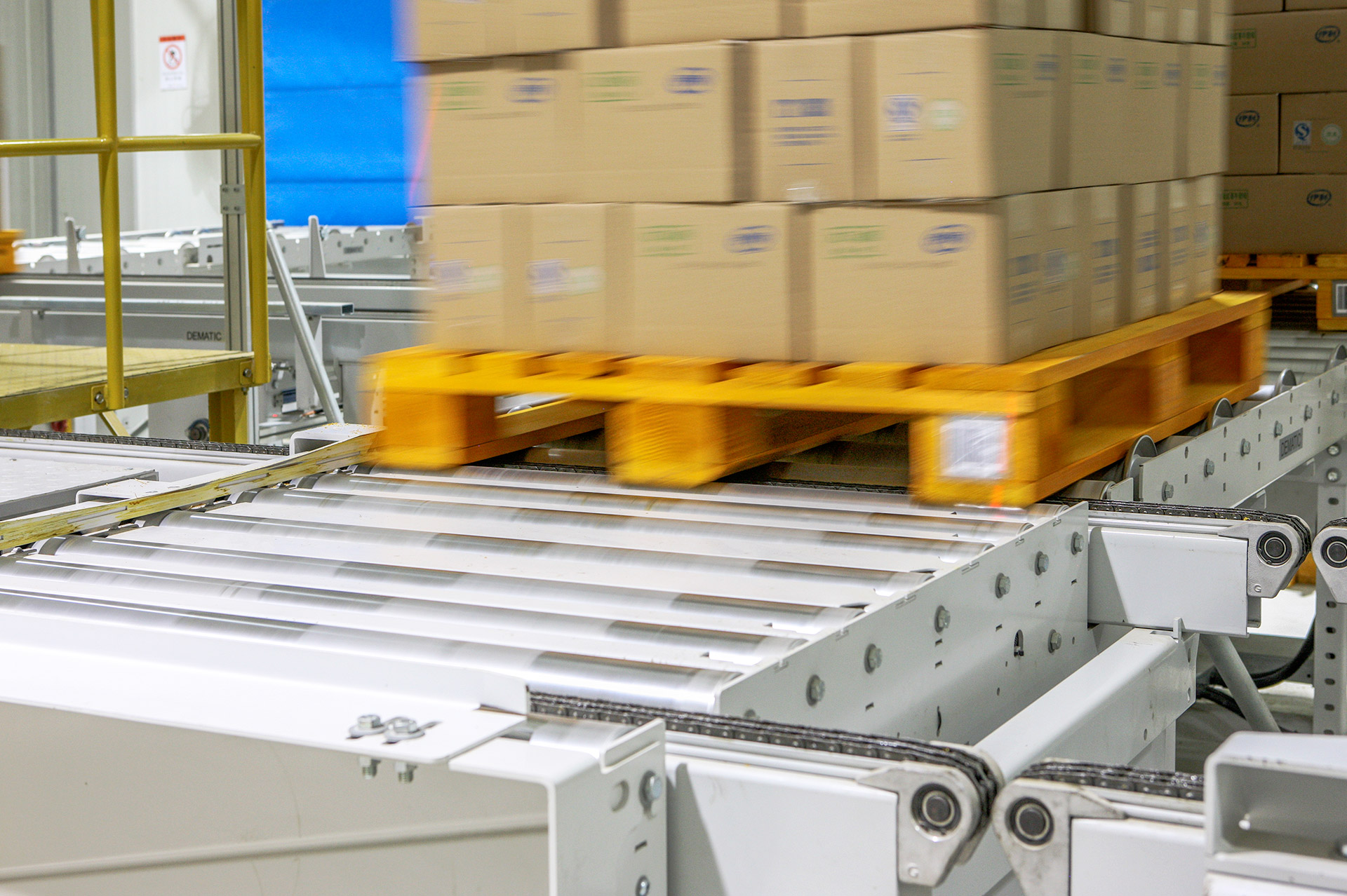 Colby Pallet Conveyors