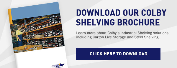 Colby Shelving Brochure Download