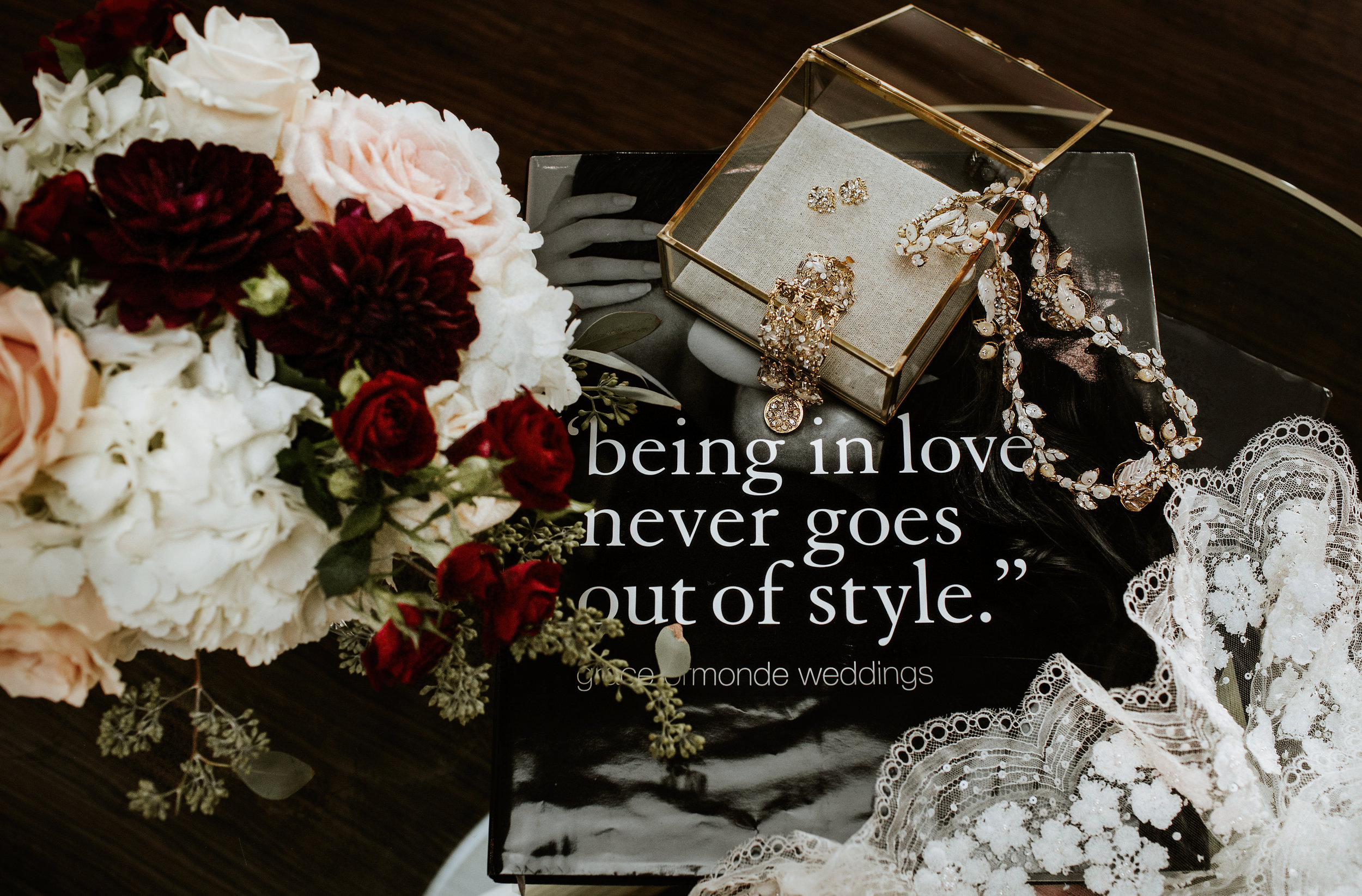 """Being In Love Never Goes Out Of Style."" 