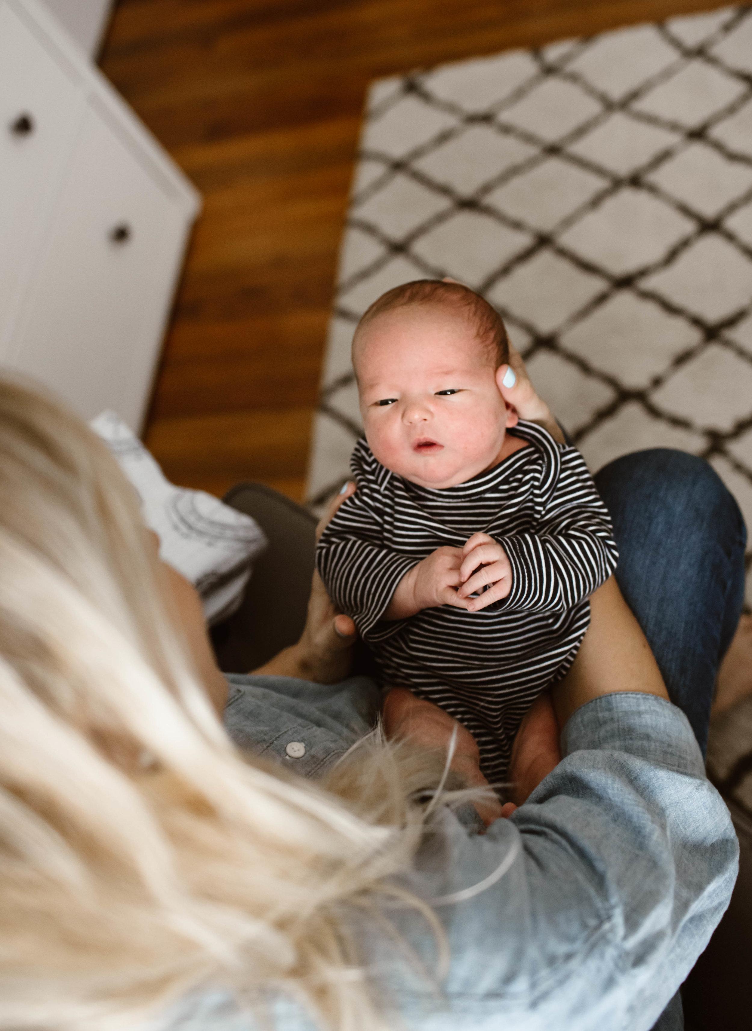 In-Home Newborn Lifestyle Session | © Vanessa Boy | vanessaboy.com-133.jpg